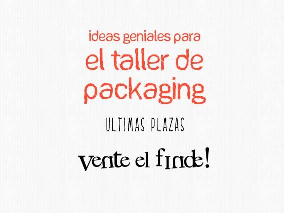 taller de packaging
