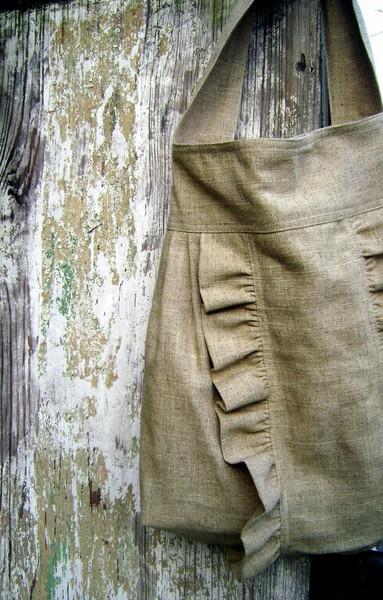 bolsos tela de saco
