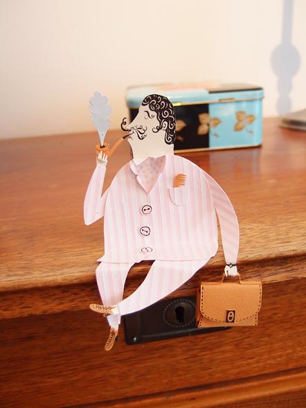 muñecos de papel