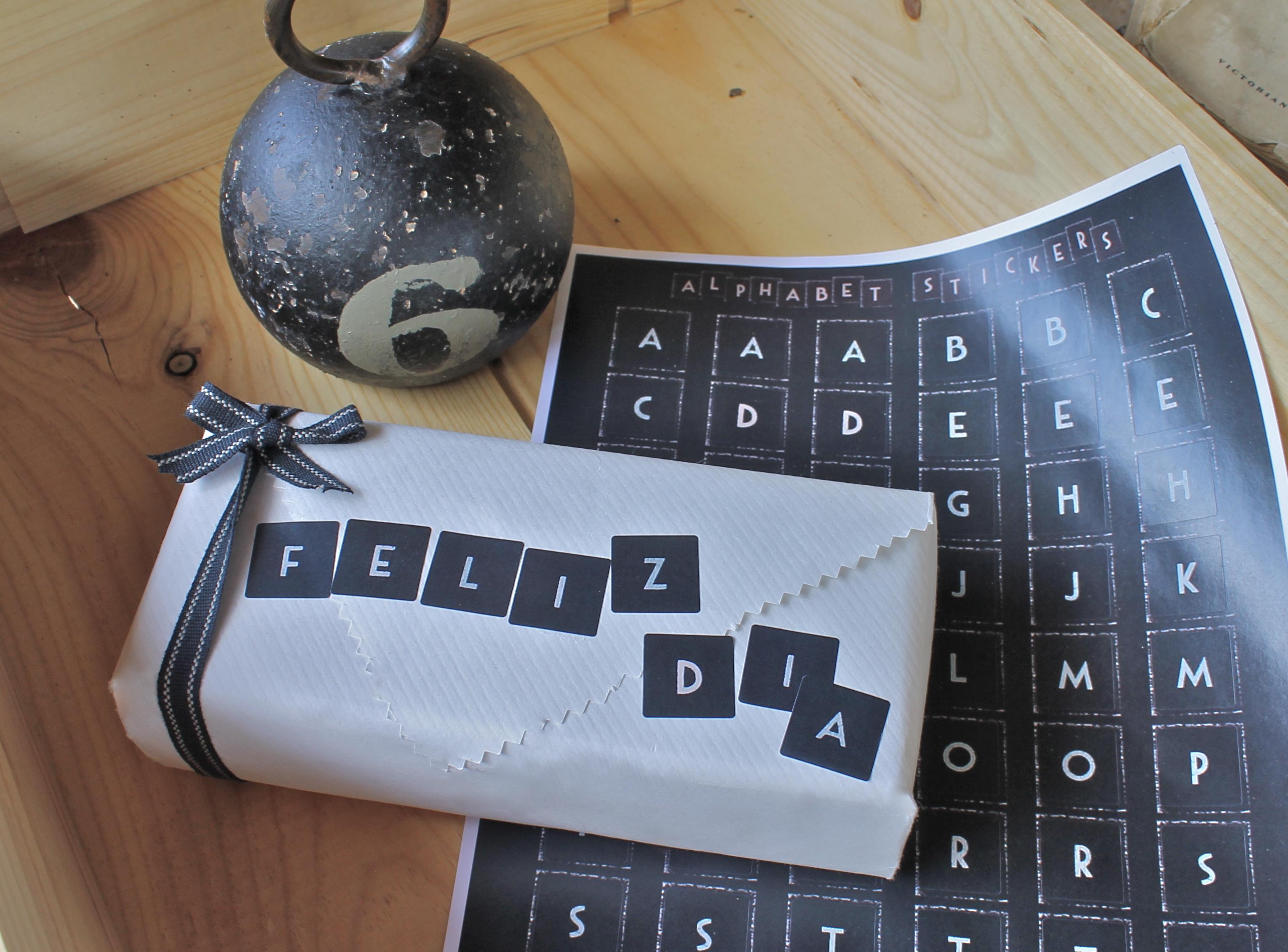 pegatinas decoracion regalos