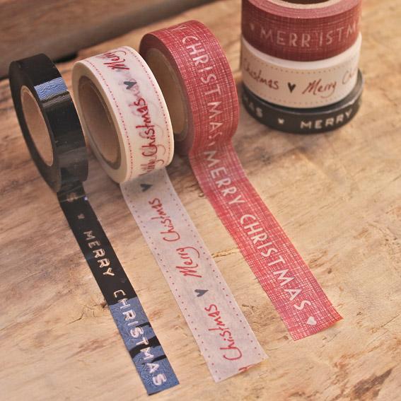 washi tape navideño