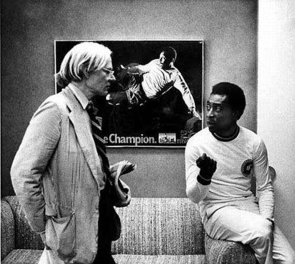 Andy Warhol y Pelé