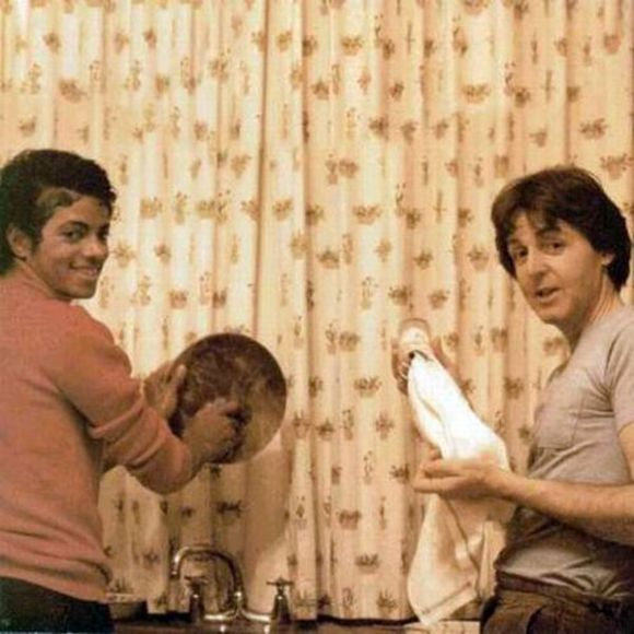 Michael Jackson y Paul Mcartney