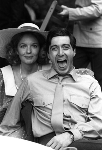 Al Pacino y Diane Keaton
