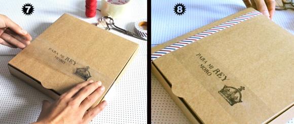 tutorial envoltorio de regalo