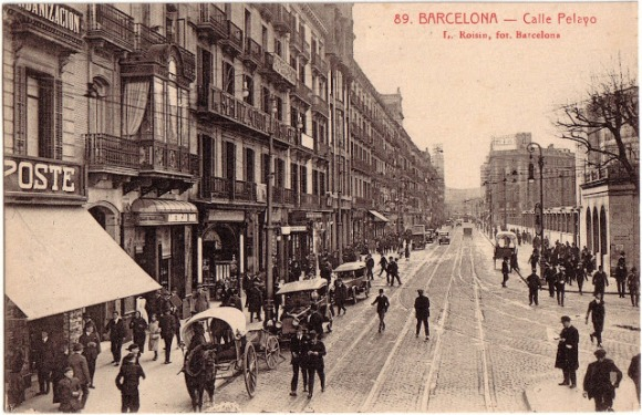 Calle Pelayo Barcelona