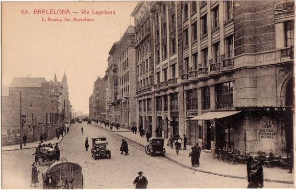 Via Layetana Barcelona