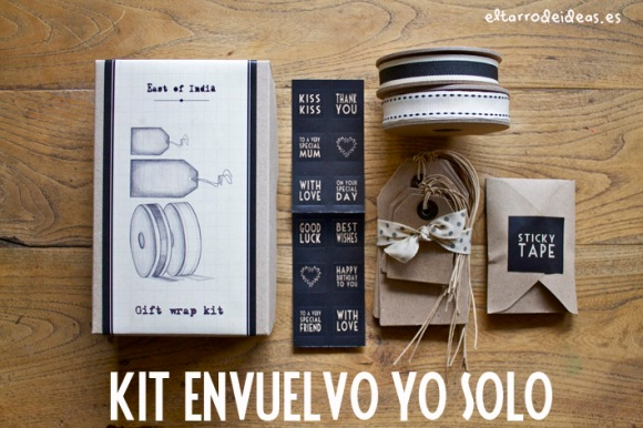 kit packaging para envolver regalo