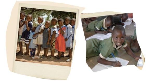 niños de Zimbabue