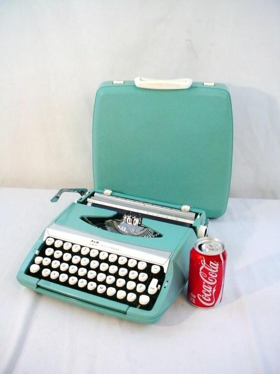 maquina de escribir retro