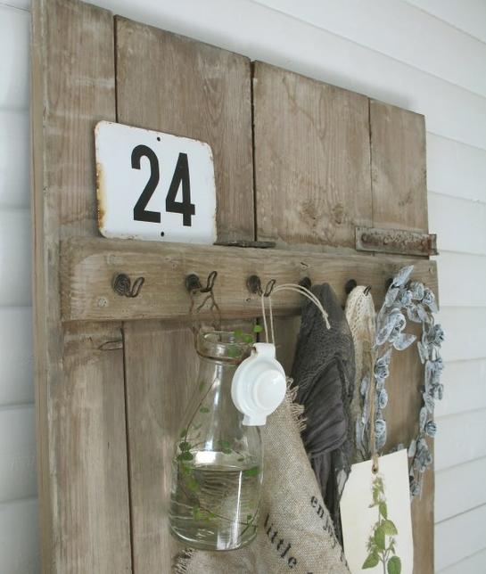 decoracion con madera