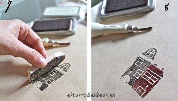 sellos hecho en casa