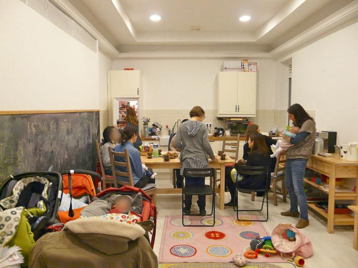 taller de madres en chamberi