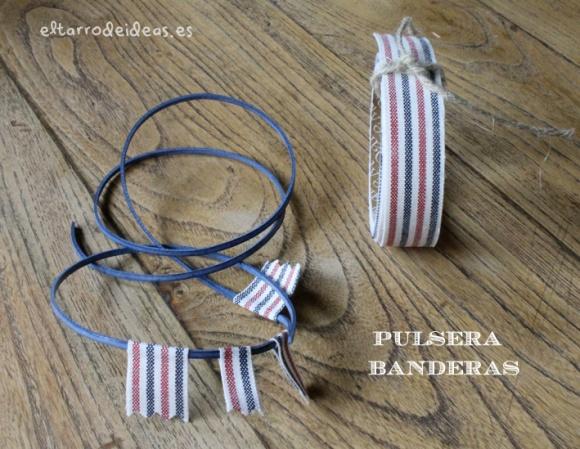 pulseras con fabrictape