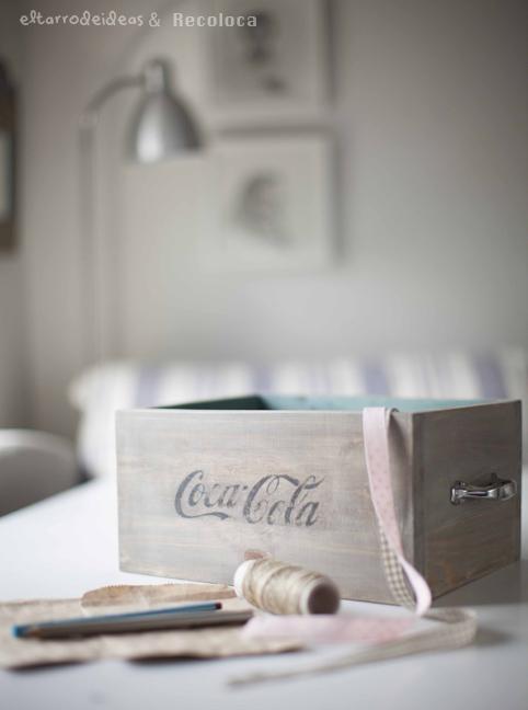 caja cocacola