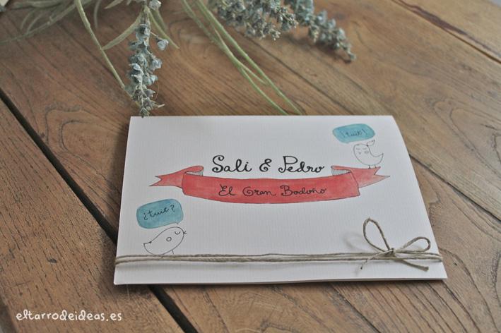 invitacion de boda
