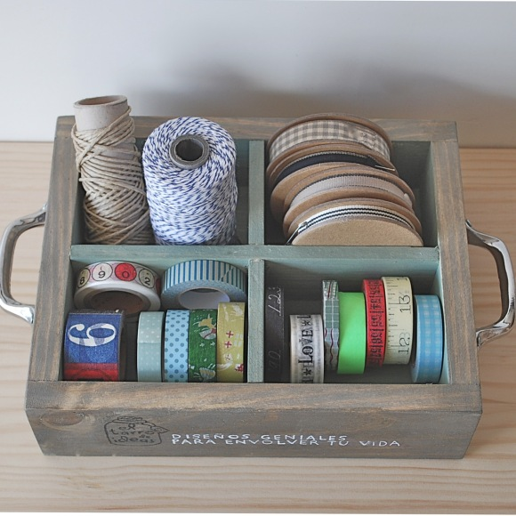 caja washi tape