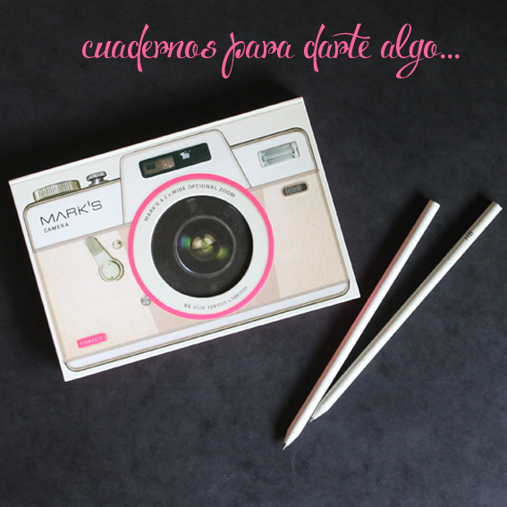 libretas camara de fotos