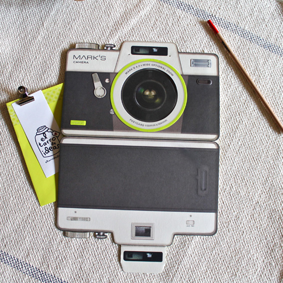 tarjetas para fotografos