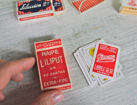 naipes vintage