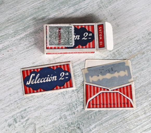 cuchillas vintage