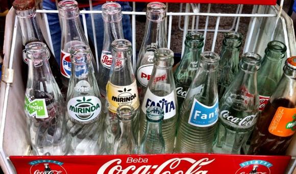 botellas vintage