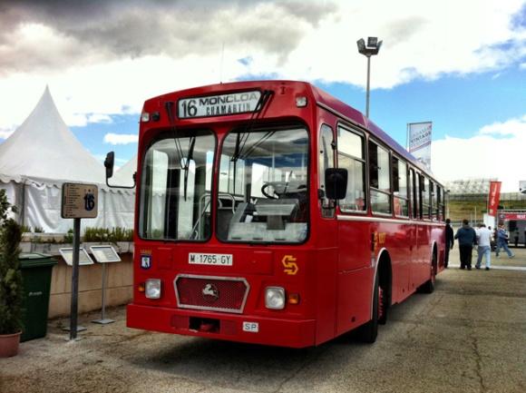 antiguos autobuses madrid