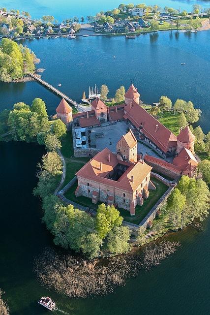 Castillo de la Isla de Trakai, Lituania