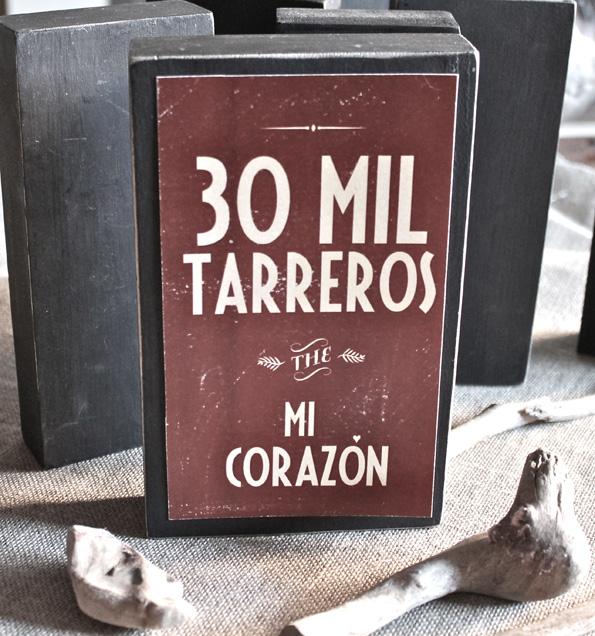 30 mil tarreros