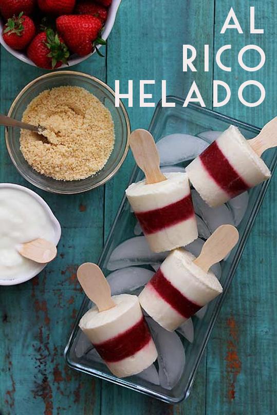 receta helados