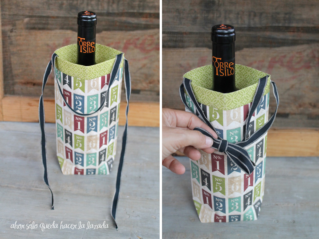 tutorial envolver botellas