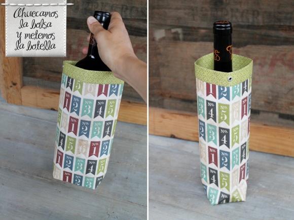 tutorial envolver botellas