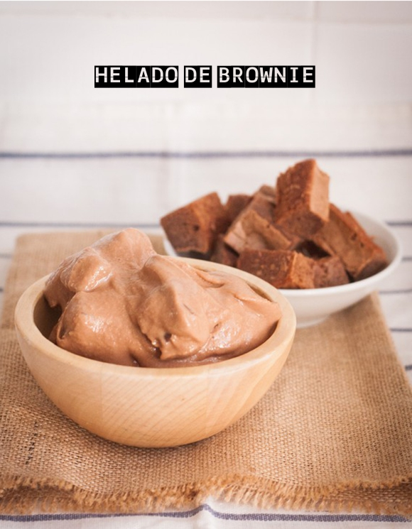 HELADO BROWNIE