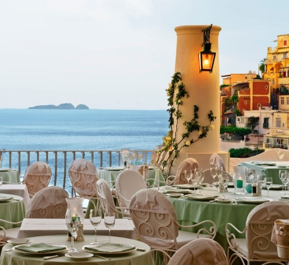 restaurante en positano- Le sirenuse hotel