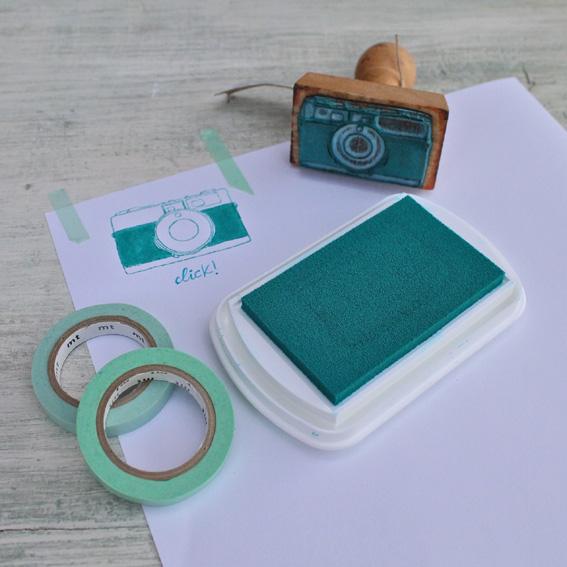 tinta y sellos