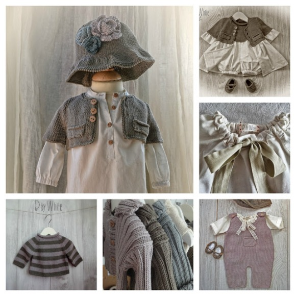 ropa infantil tejidos naturales