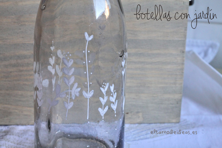 botellas handmade