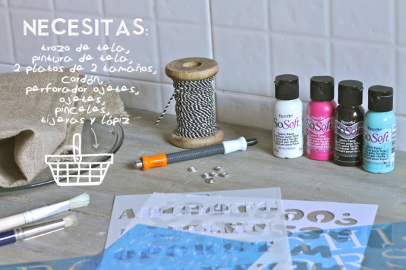 MATERIALES tutorial saco
