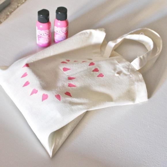 pintura para tela rosa