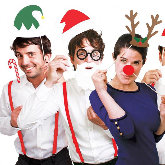 Antifaces Navidad