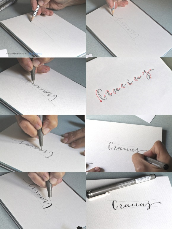 tutorial caligrafia
