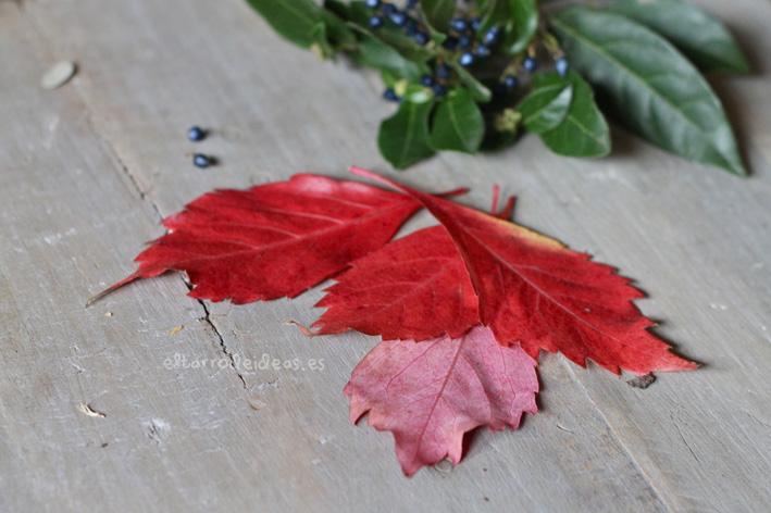 hojas otoño tutorial manualidades proyecto pintar pintura relajarse actividades