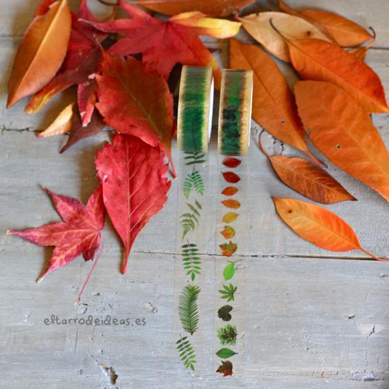 washi tape otoño
