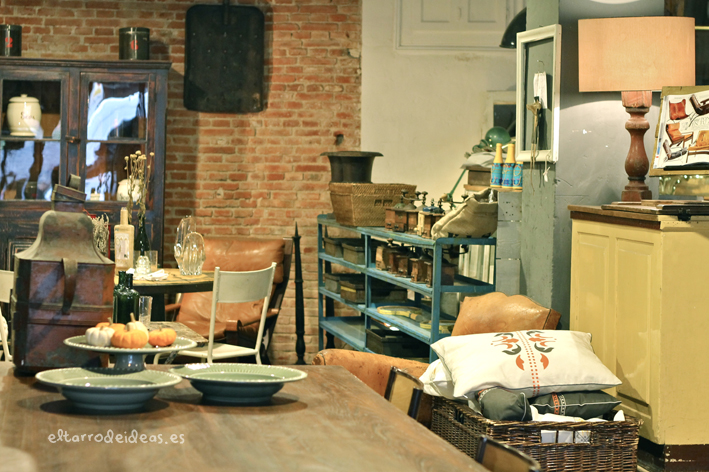 Decoracion vintage for Rastro madrid muebles