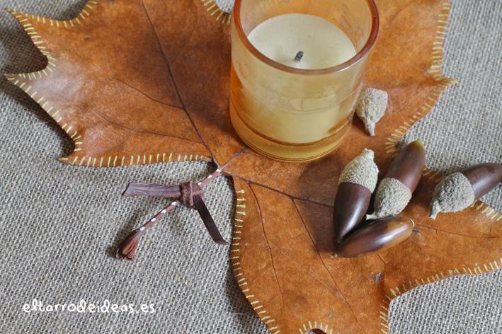 etiquetas botánicas, vela, decoración, diy, proyecto, manualidades, hogar