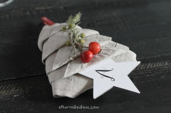 eltarro mesa de navidad