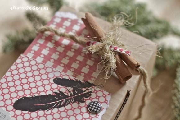envolver regalos el tarro