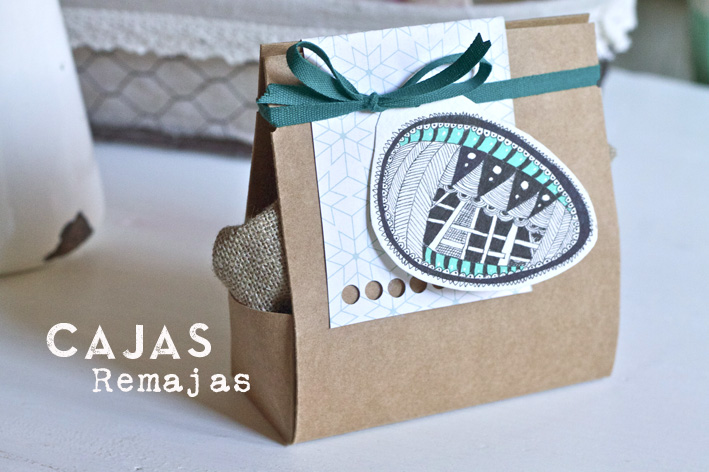 packaging y zentangle