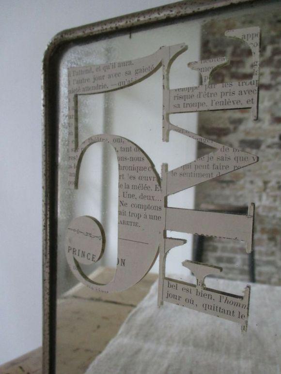 decoracion espejo