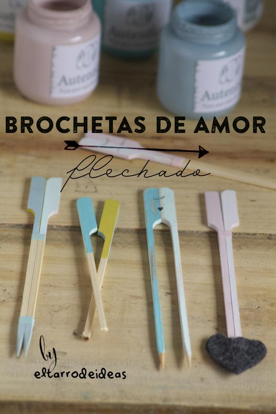 brochetas de amor